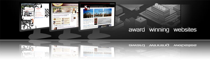Award Winning Websites, focusing on accessiblity and usability
