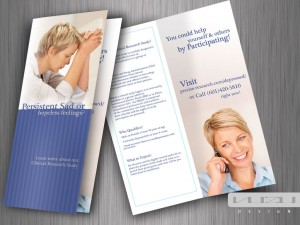 Bifold Brochure Design for Precise Research