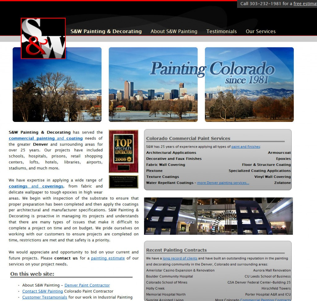 SW Painting - Colorado Paint Contractor