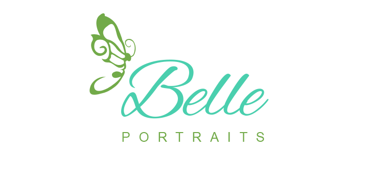 Belle Portraits Logo Design