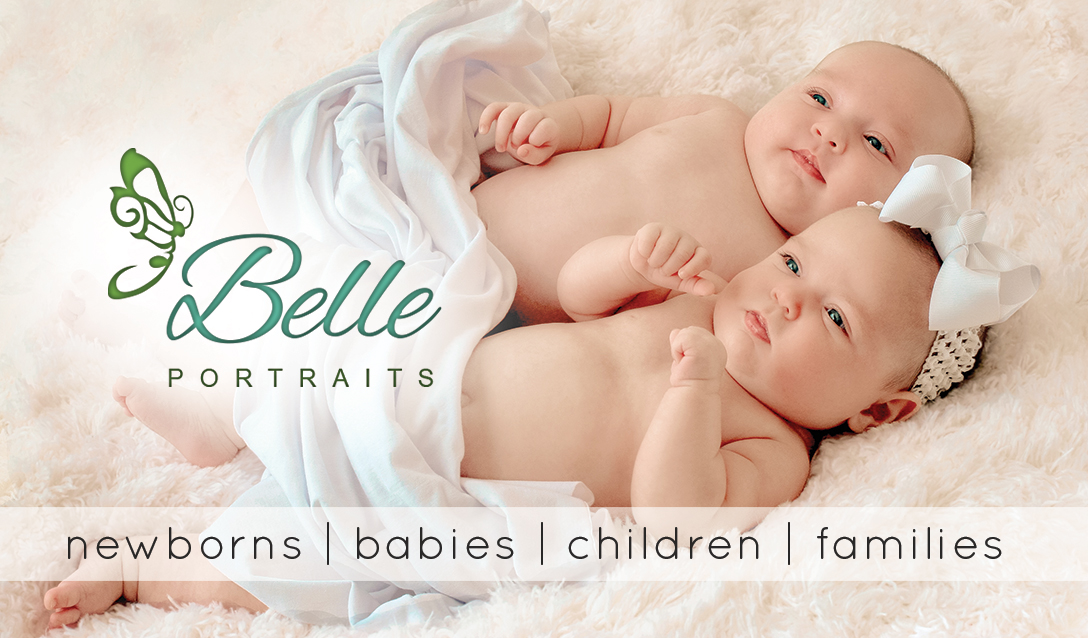 Belle Portraits Business Card