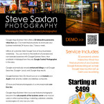 Full Page Flyer Design for a Google Business Photographer