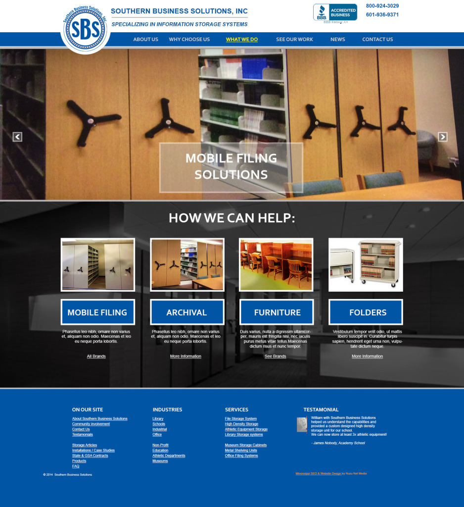 Jackson Mississippi Website Design